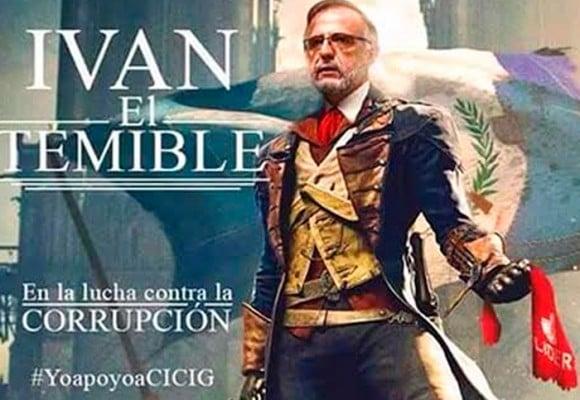 """""""Iván Velásquez, Guatemala te ama"""""""