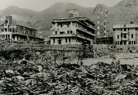 Homenaje a las víctimas de Hiroshima y Nagasaki