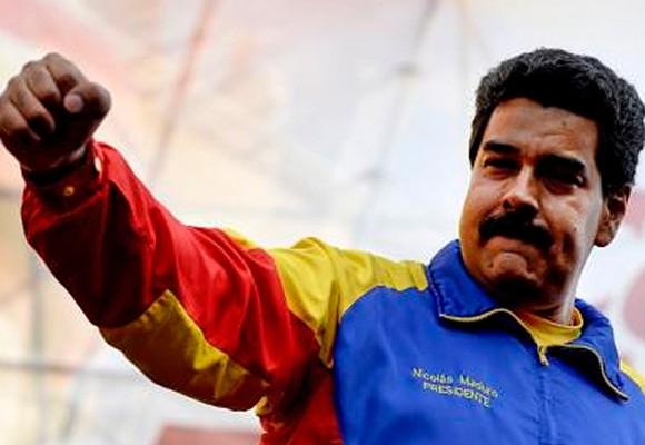 """""""Vente pa' acá pa' darte lo tuyo, Uribe"""": Maduro"""
