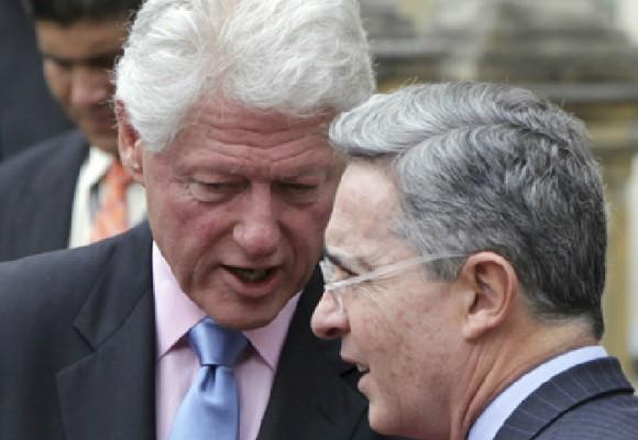 La llegada de Uribe a La Habana