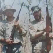 Cuando Santos cazaba búfalos en África