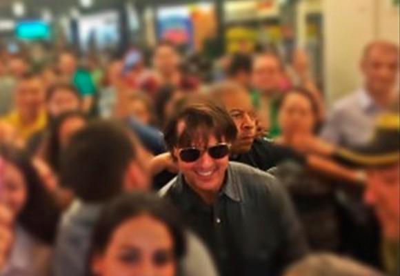 Tom Cruise en las calles de Medellín