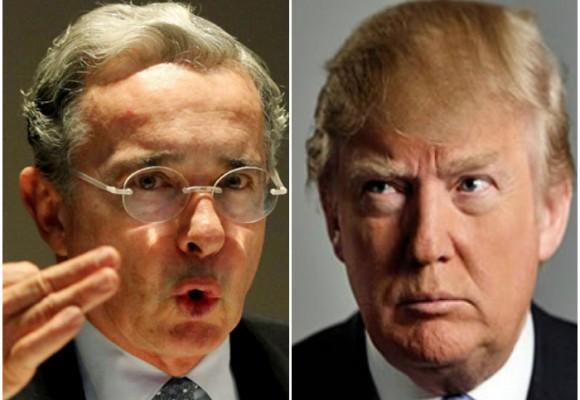 Trump y Uribe: gemelos emberracados