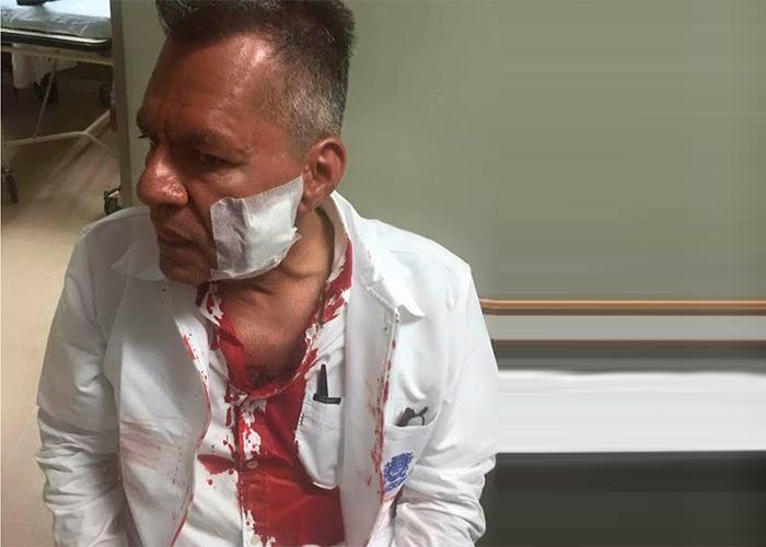 El ESMAD agredió a médicos y empleados de la salud en Medellín