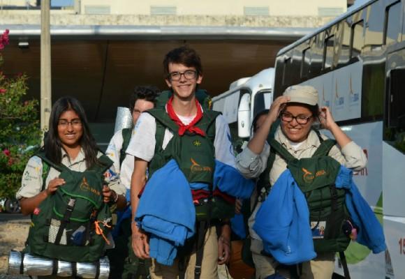 Jóvenes expedicionarios llegan a Colombia