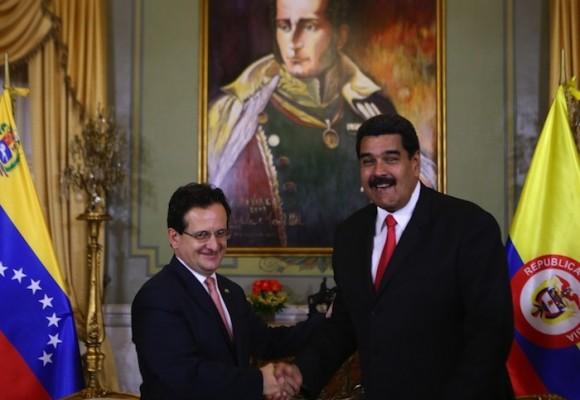 ¿Quién es el embajador de Colombia para Venezuela?