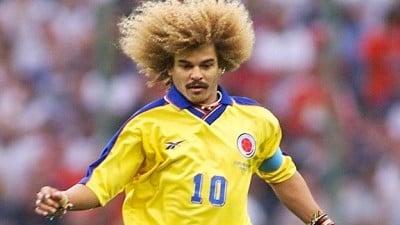 El Pibe dirigió a Colombia en los cinco goles contra Argentina