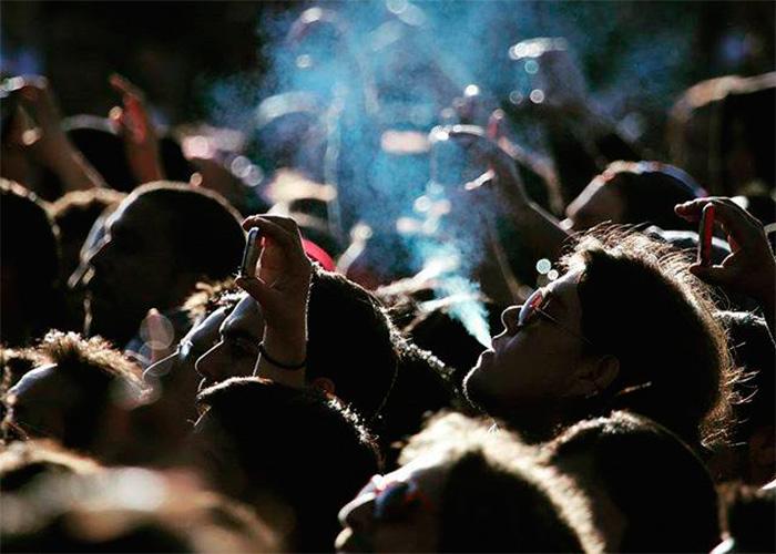 Rock al parque: fiesta, perico, creepy y ácidos