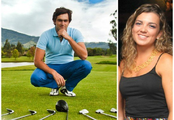 El golfista que enamoró a María Antonia Santos
