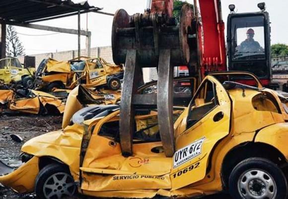 'Pa' fuera los taxis en Barranquilla'