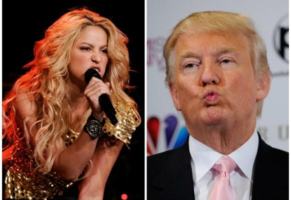 Shakira cantará contra Trump