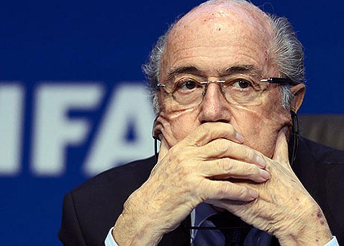 Blatter pagaría 'cadena perpetua'
