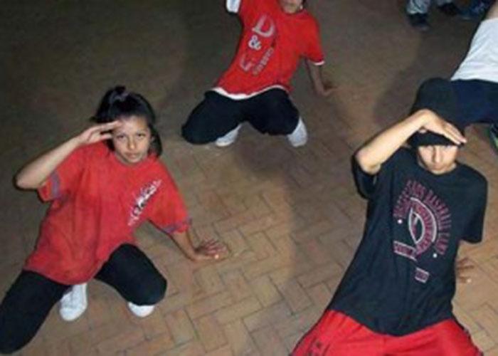 Capoeira, iniciativa juvenil por la cultura y la paz