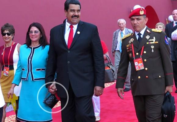 La cartera de los 480 salarios mínimos de la esposa de Maduro