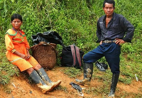 Historia de una guerra tribal por el oro del Chocó
