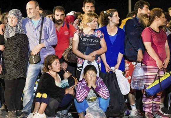 Croacia envía refugiados engañados hacia Hungría