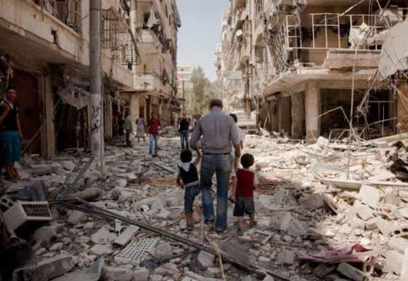 Los desplazados por la política y la guerra