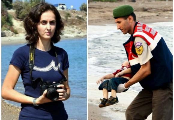 La fotógrafa de la imagen que estremeció al mundo