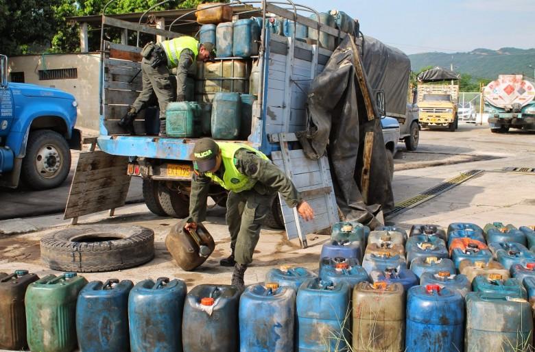 Gasolina, narcotráfico y contrabando en la frontera colombo-venezolana