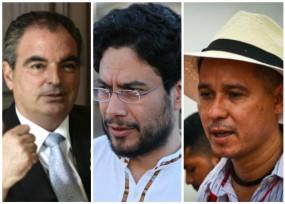 El ministro Iragorri contra la pared: Iván Cepeda y César Jeréz median
