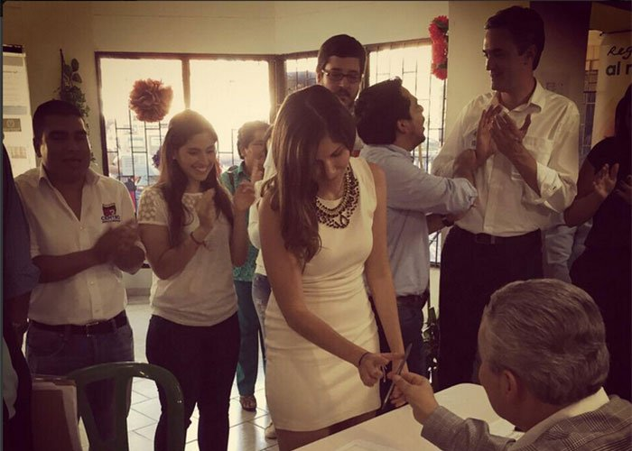 Juanita Cataño se despachó contra la corrupción y los candidatos cuestionados en Tuluá