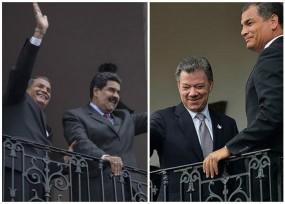Concluyó la reunión de Santos y Maduro pero aún no hay humo blanco