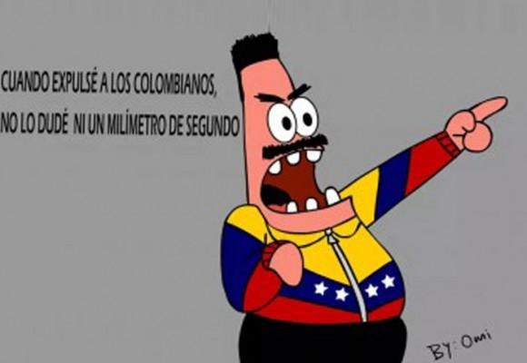 Vuelve y juega, Maduro con la frontera