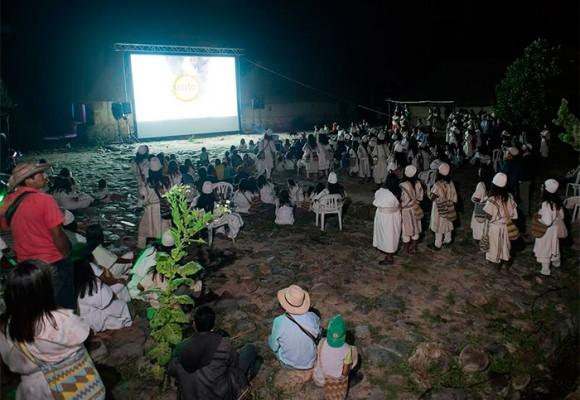 Así fue el estreno de Magia Salvaje entre los arhuacos