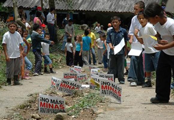 La 'educación minada' en Putumayo