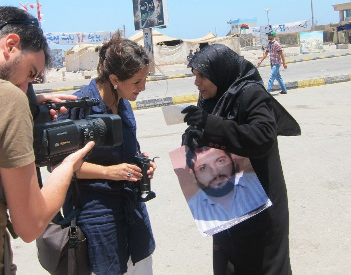 Natalia Orozco ha realizado documentales de talla internacional como Bengazi:beyond the frontline