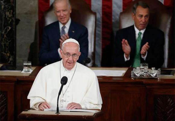 El discurso de Francisco que paralizó al Congreso norteamericano