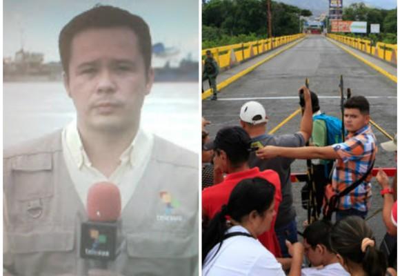 Amenazas contra reportero de Telesur lo obligan a salir de Cúcuta