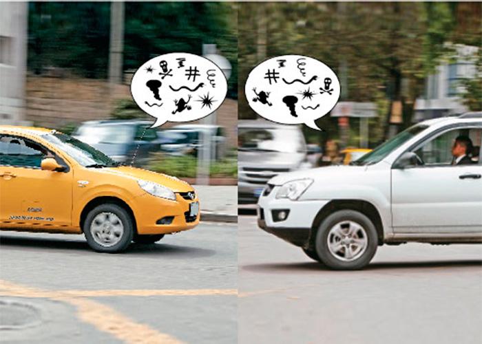 La encerrona de los taxis a Uber, bicitaxis y mototaxis