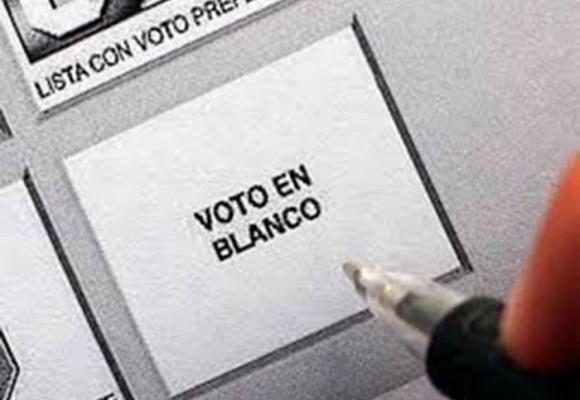 Siete razones para votar en blanco