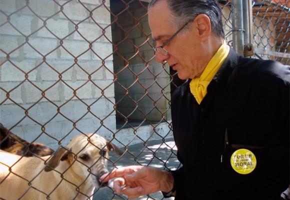 El hermano de Vallejo que quiere ir al Concejo a hablar por los animales