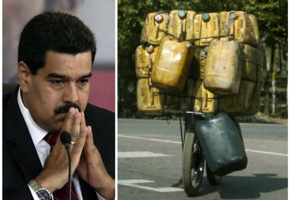 Así funciona el contrabando de gasolina venezolana en la frontera