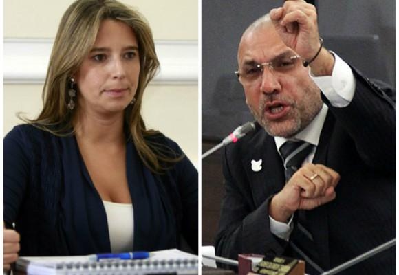 Trinca de congresistas contra Cristina Plazas