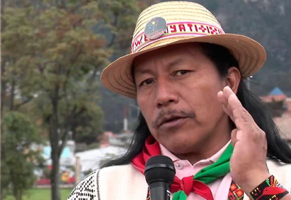 La Fiscalía detuvo en el Cauca al dirigente indígena Feliciano Valencia