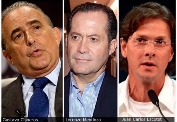 Los tres más ricos de Venezuela conviven con Maduro
