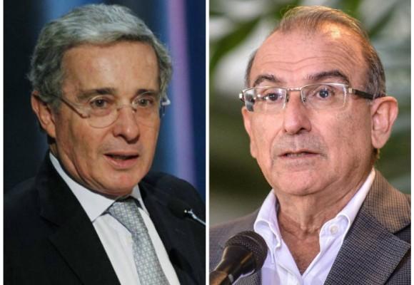 Encuentro privado de Uribe y De la Calle
