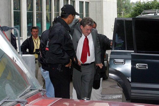 Suárez Corzo fue trasladado a la Picota tras su detención en 2011 cuando llegaba a la campaña de Andrés Cristo