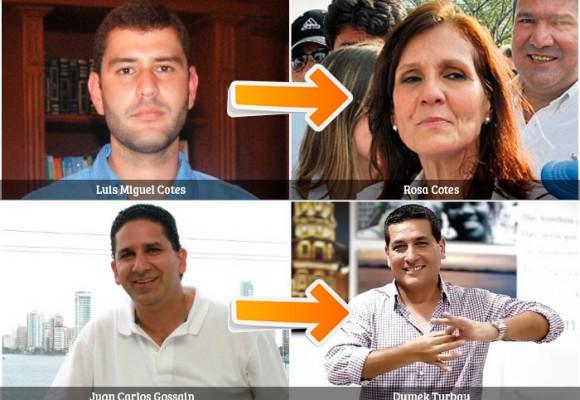 Gobernadores dejarán sucesores