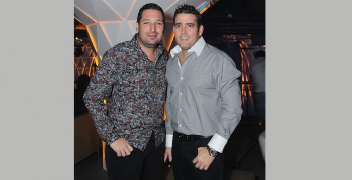 Miguel Char y Victino Mendoza. Foto El Heraldo