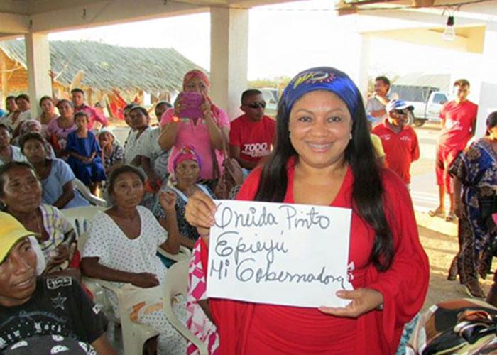 'Se le volteó la arepa' a Oneida Pinto en La Guajira