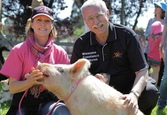 Philip Wollen explica por qué los animales deben salir del menú
