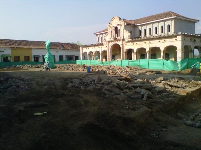 Plaza de la Concepción antes