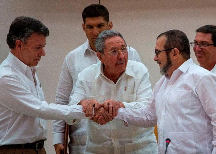 Santos y Timochenko, entre los candidatos al Nobel de Paz