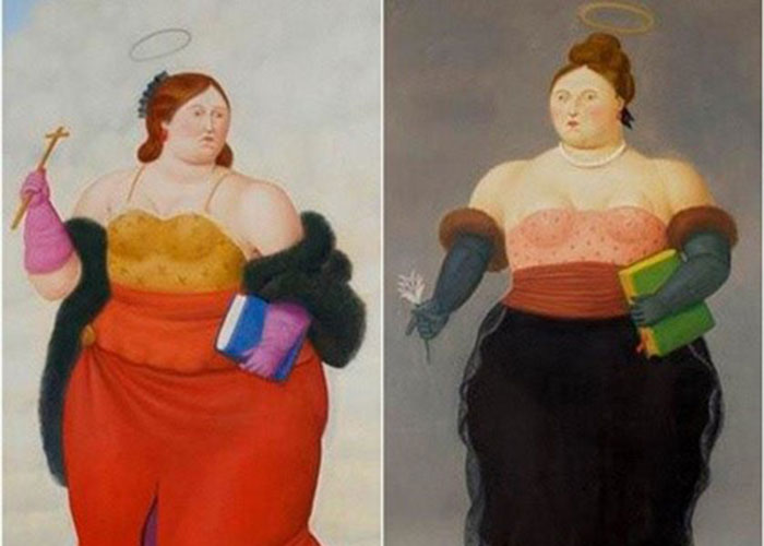 Botero llega con sus santas gordas a China