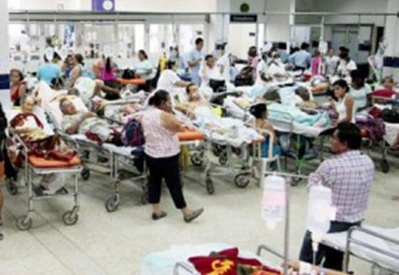 Ministro de salud manipula pinta la crisis color de rosa