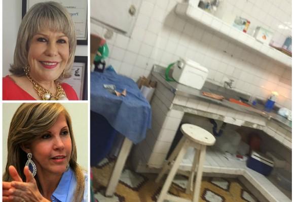 Imágenes de una de las sedes del laboratorio de la tía de Dilian Francisca Toro que contrata con la red de salud del Valle